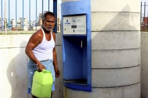 Cajeros automáticos de agua: una solución práctica frente a la escasez