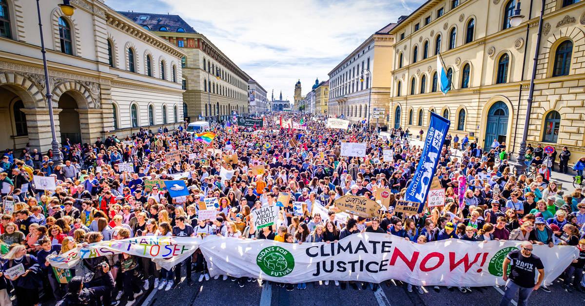 Fridays for Future recibió el mayor reconocimiento ambiental de la ONU