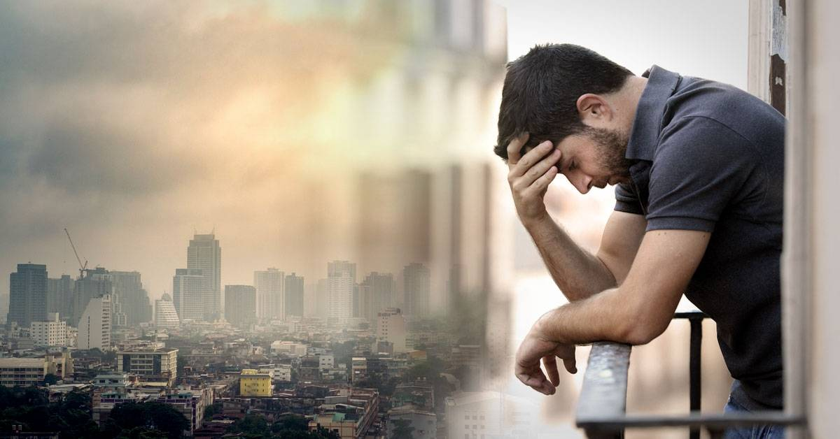 El aire contaminado puede hacer que te sientas menos feliz