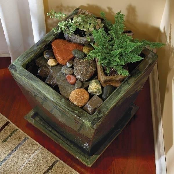 Cómo hacer una relajante fuente para interiores