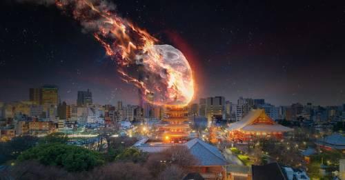 Un meteorito impactó un edificio en Japón y esto fue lo que sucedió