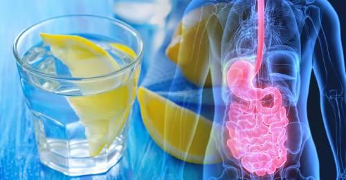 Este es el resultado de beber un vaso de agua con limón todos los días