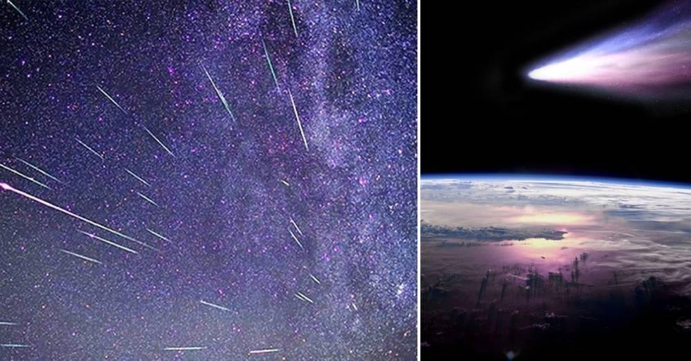 Esta noche: ¡No te pierdas la lluvia de meteoritos del cometa Halley!