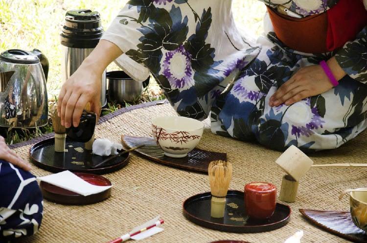 elementos del chanoyu ceremonia del te