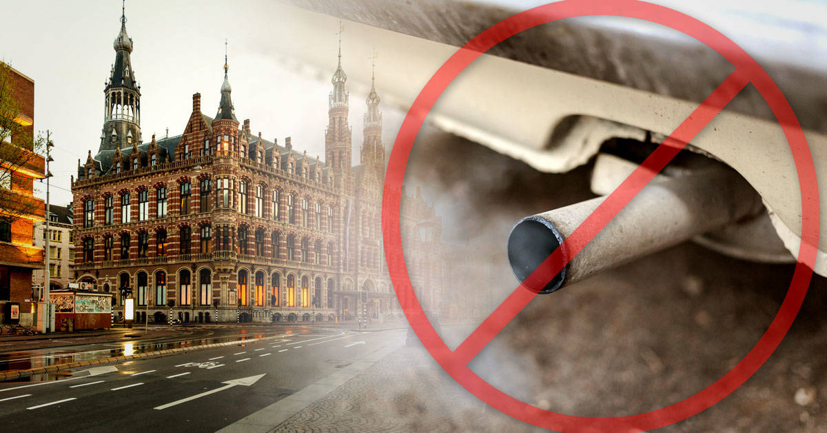 Ámsterdam prohibirá los vehículos diésel y a gasolina a partir de 2030