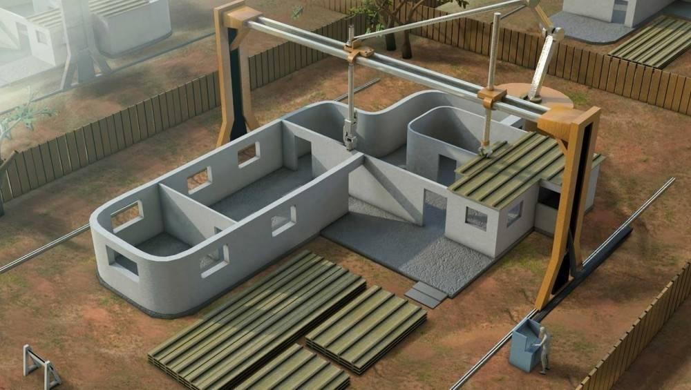 La impresora 3D portátil que imprime casas está cerca de volverse realidad e..