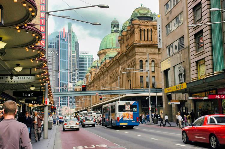 sidney Australia ciudad transporte