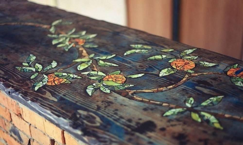 Cómo decorar con mosaicos una mesa