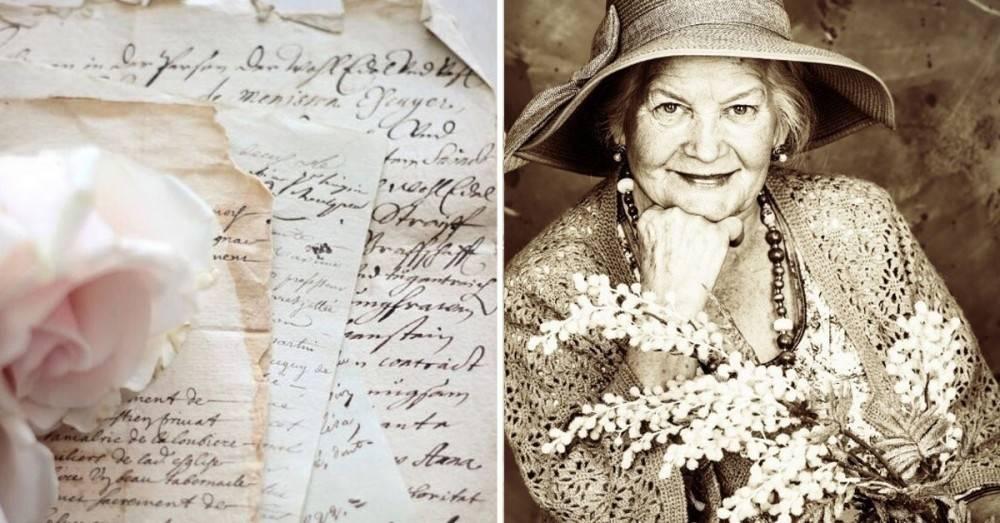 Esta carta de una mujer de 83 años a su amiga te hará llorar y disfrutar má..