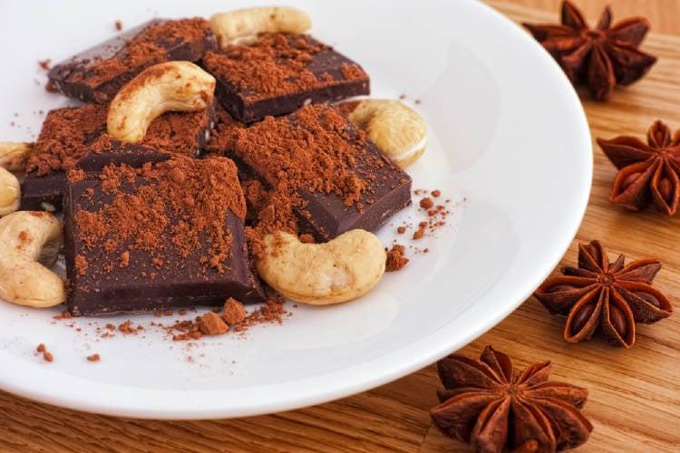 chocolate y castañas