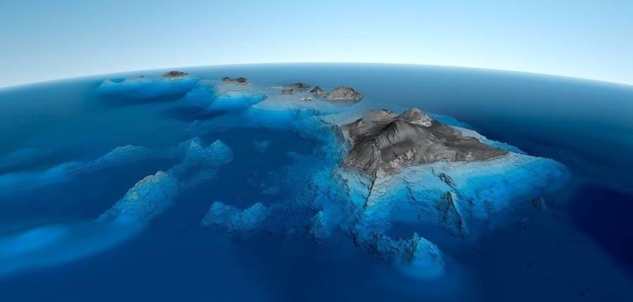 Desaparecieron dos islas por la elevación del nivel del mar