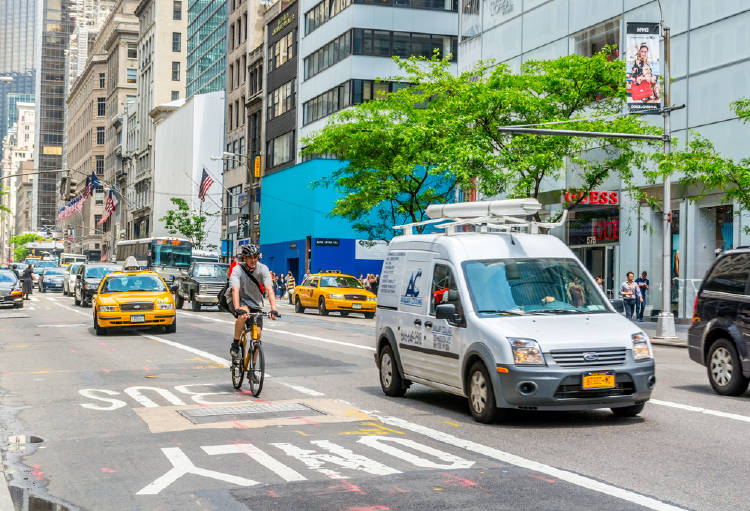 bicicleta nueva york