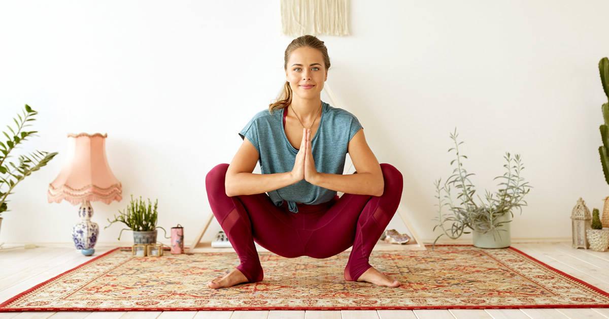 3 sencillas posturas de yoga para tonificar glúteos