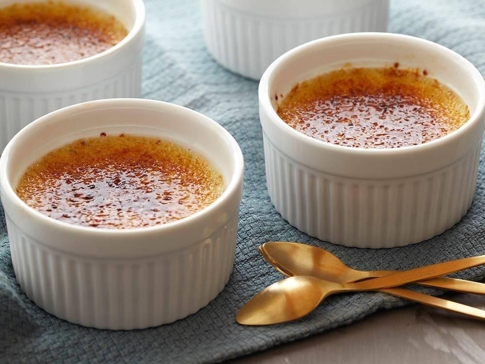 Receta sencilla y saludable de crème brûlée