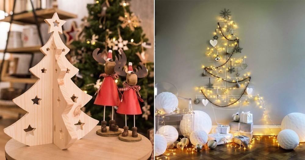 13 rboles de navidad alternativos para hogares con poco for Arboles para espacios pequenos