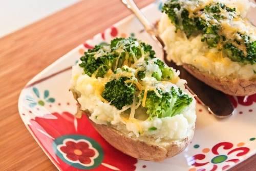 Receta: patatas rellenas con vegetales