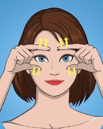 3 movimientos para atenuar arrugas y combatir el envejecimiento sin siquiera p..
