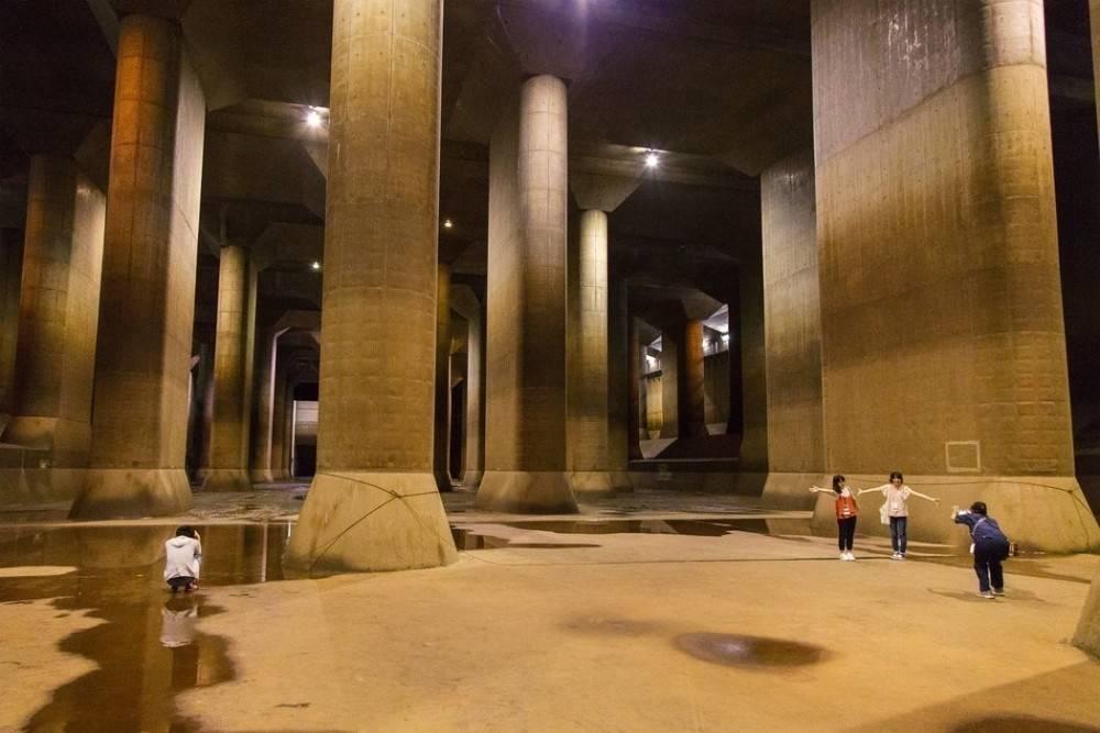Los túneles secretos de Japón para defenderse de devastadoras inundaciones