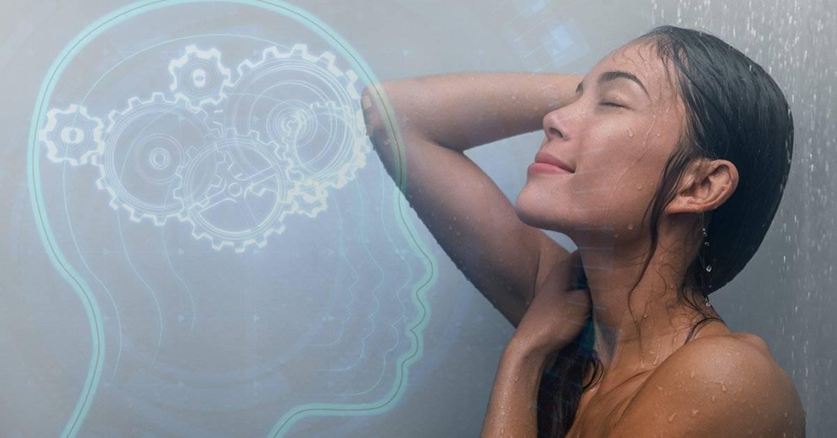 Esta es la razón científica por la que se te ocurren tan buenas ideas en la ducha