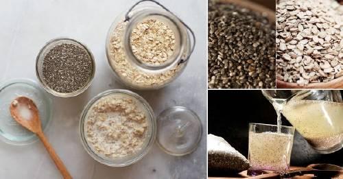Logra un vientre plano con este desayuno de avena y semillas de chía