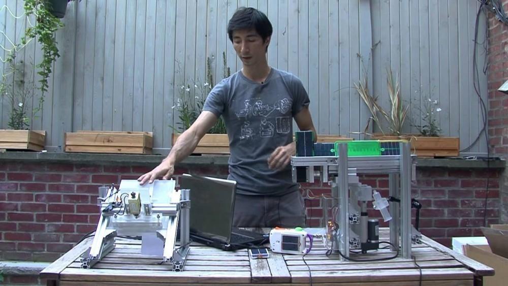 invento paneles solares imprimir