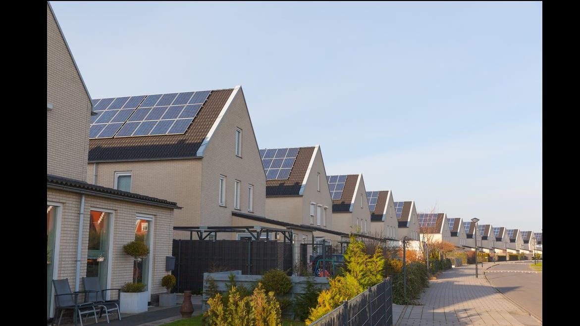 Los tejados podrían producir más del 80% de la electricidad en este país
