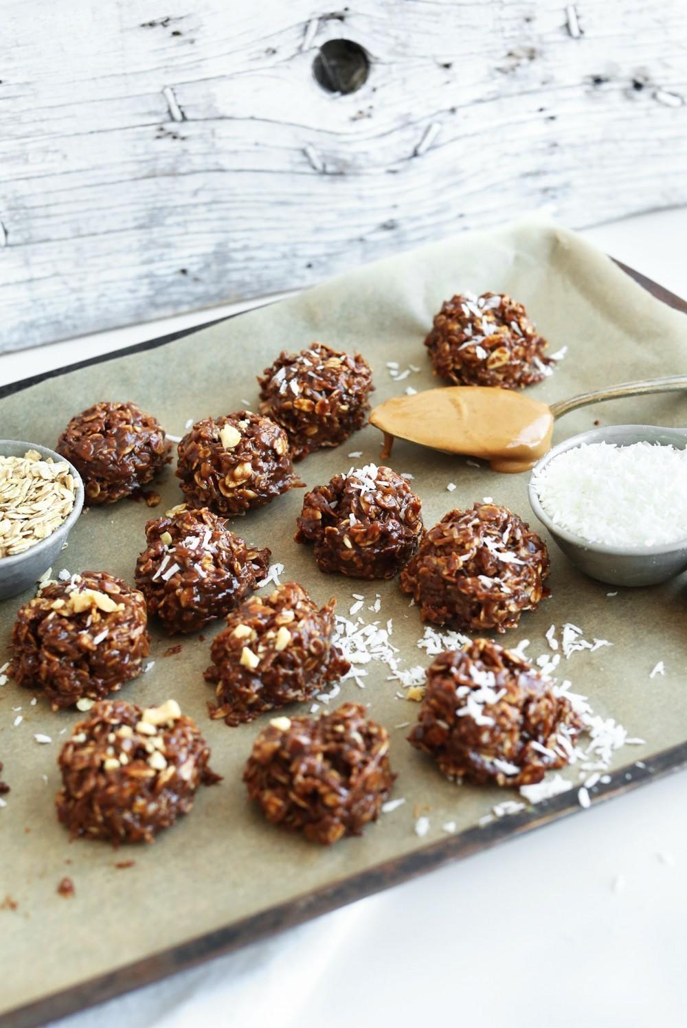 Galletas de chocolate sin cocci n para hacer en 10 minutos for Cocinar en 10 minutos