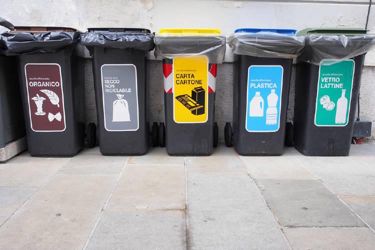 Residuos diferenciados en Italia