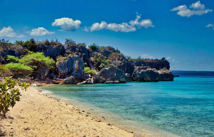 Playa de Bahía de las Águilas, en Pedernales, República Dominicana