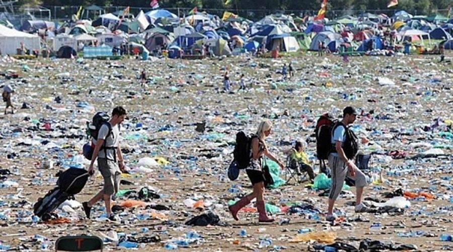 ¿Sabes cuál es el precio que paga la naturaleza por los festivales de músic..