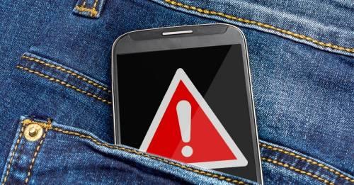 7 lugares en los que NO deberías guardar tu smartphone. ¡Es peligroso!