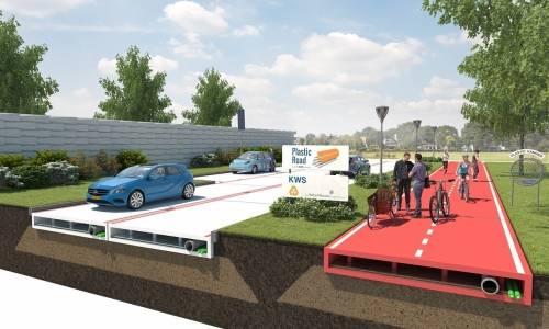 Se construirá la primer carretara fabricada con plástico reciclado