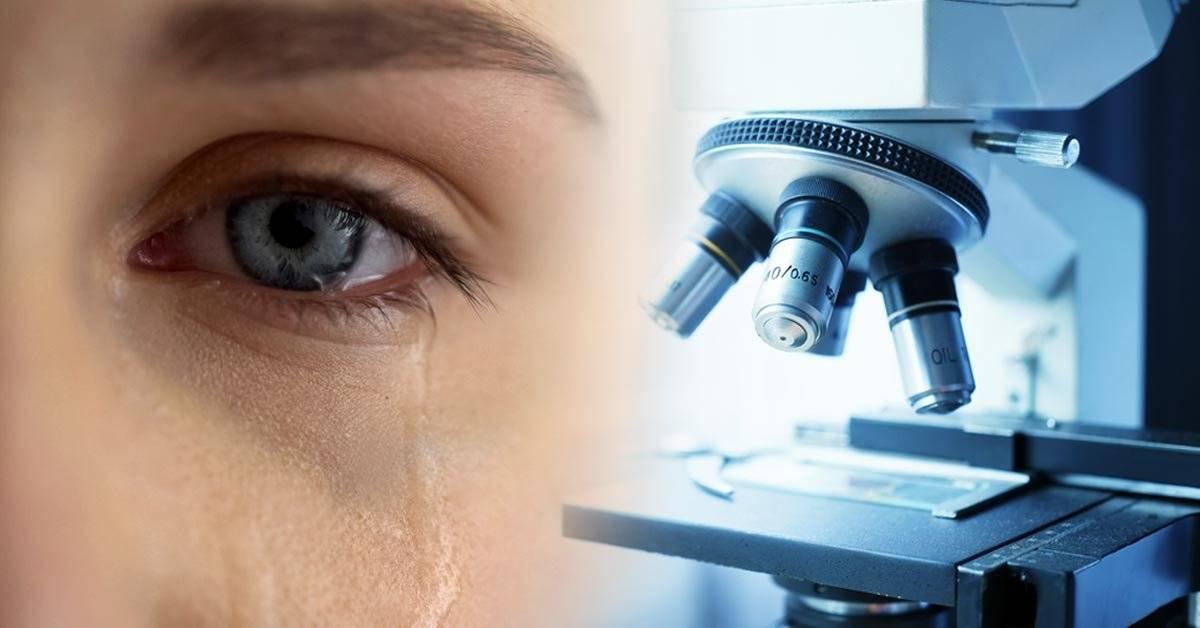 ¿Todas las lágrimas son iguales? Un microscopio lo revela
