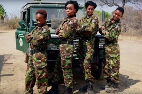 Un ejército de mujeres en Sudáfrica con una causa muy noble