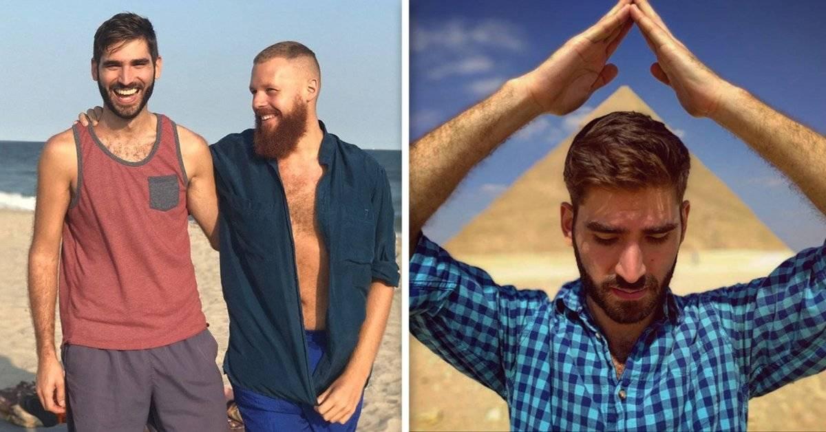 Esta pareja de hombres ha logrado viajar por el mundo sin gastar un solo centavo