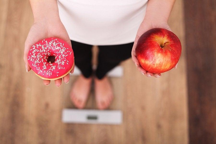 dieta balanza peso alimentacion