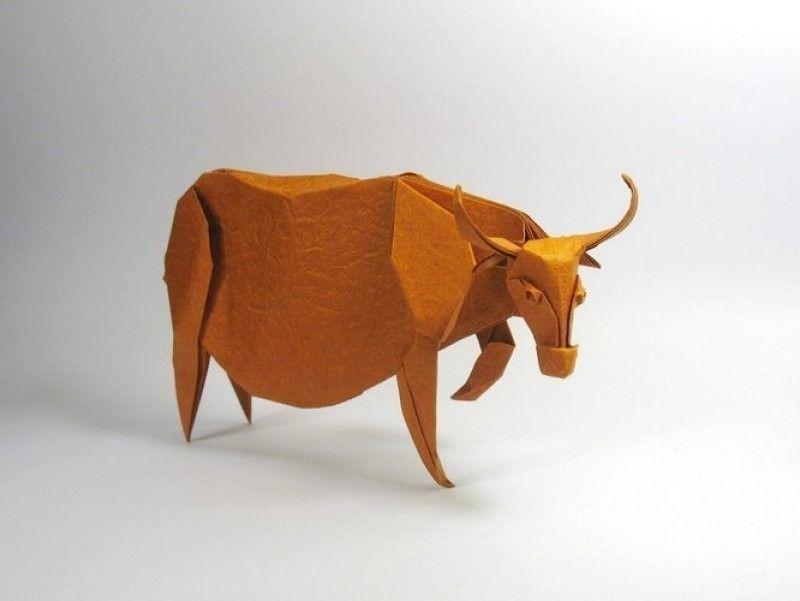 Los increíbles origamis de Nguyen Hùng Cuong- toro