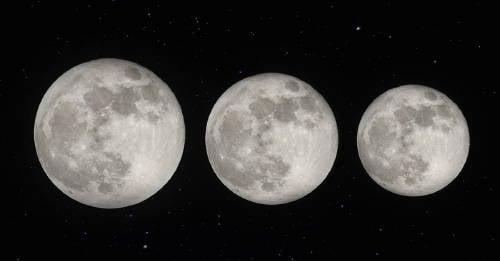 Por qué la luna se está encogiendo