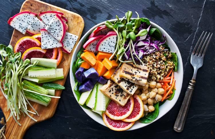 alimentacion vegetariana