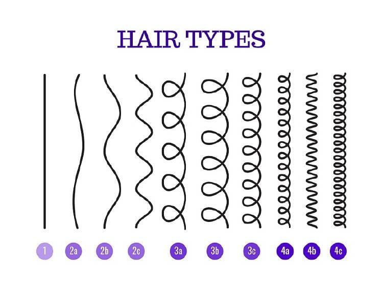 tipos de cabello clasificación andre walker