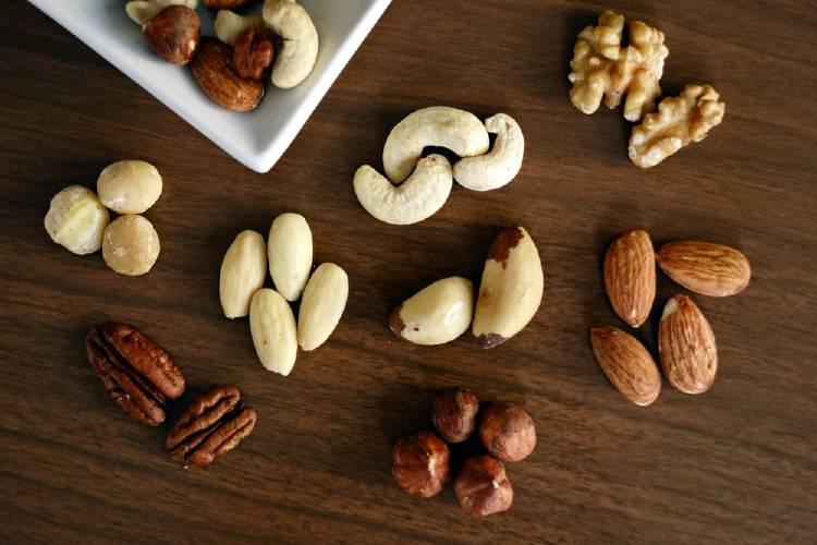 Frutos secos: fuente de grasas saludables