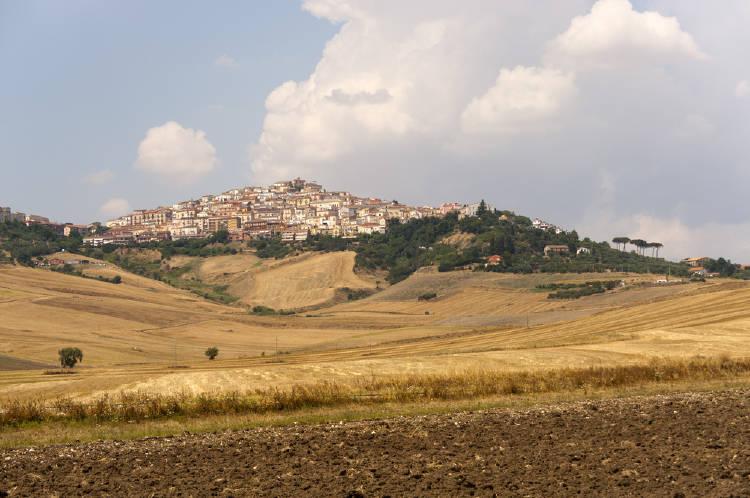 Pueblo del sur de Italia