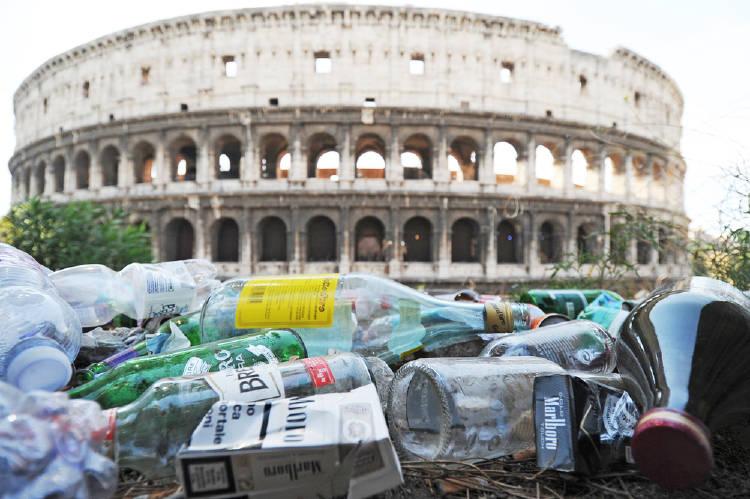roma basura