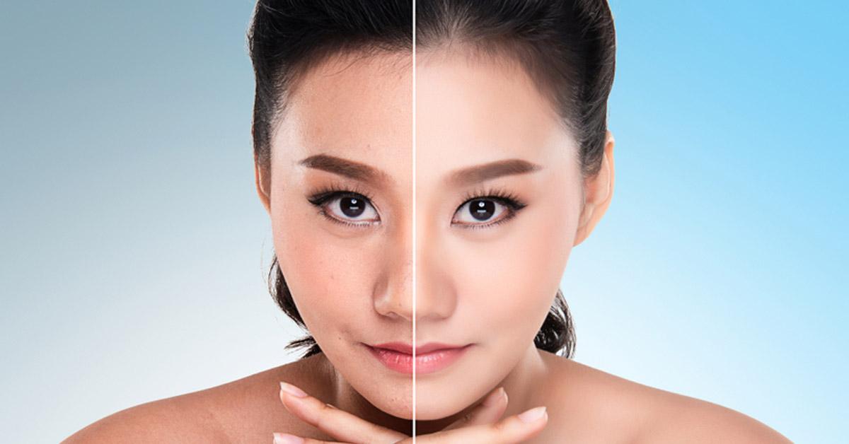 tecnica asiatica para estilizarse la cara