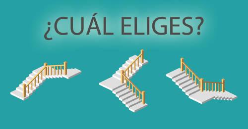 Test: elige una escalera y descubre qué camino debes tomar en tu vida