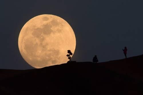Estas son las mejores imágenes que dejó el super-eclipse de luna de sangre