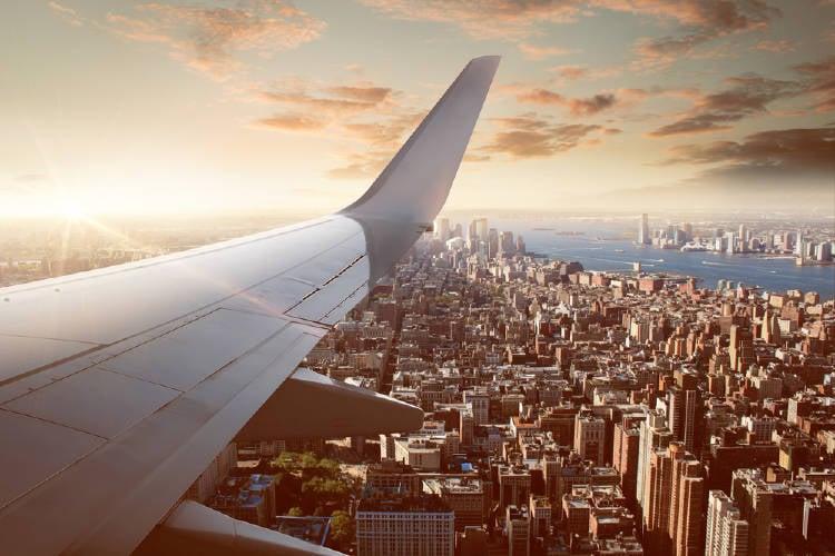 viaje avion