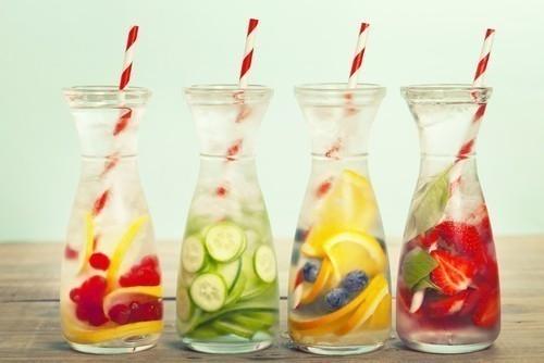 Aguas saborizadas caseras para adelgazar