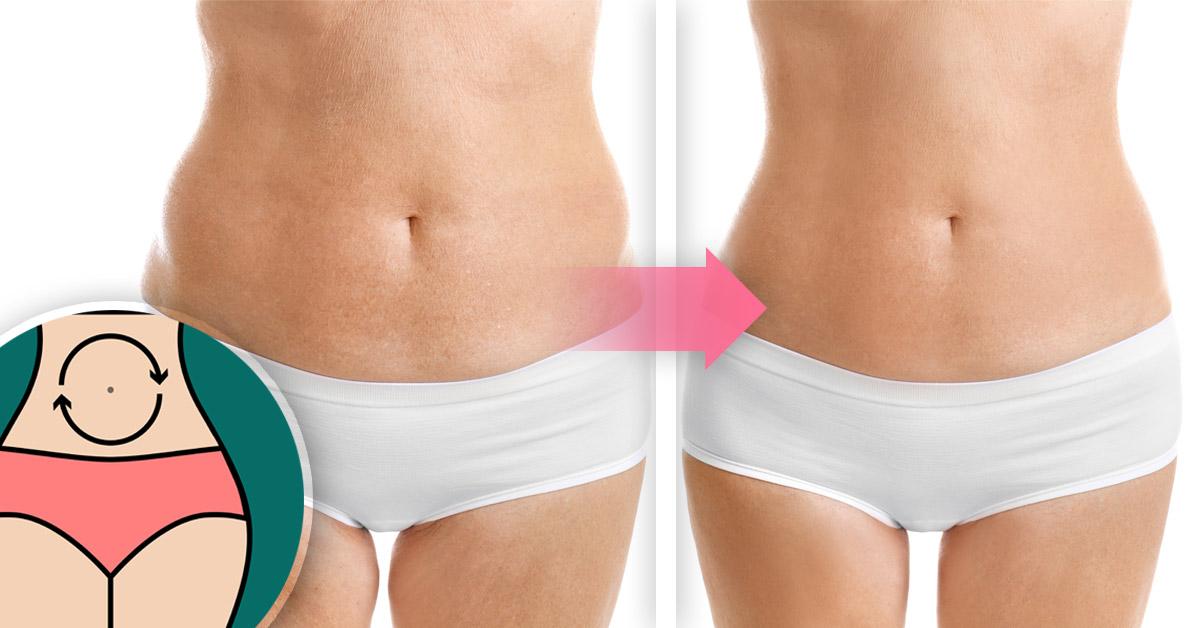 drenaje linfatico para adelgazar abdomen y