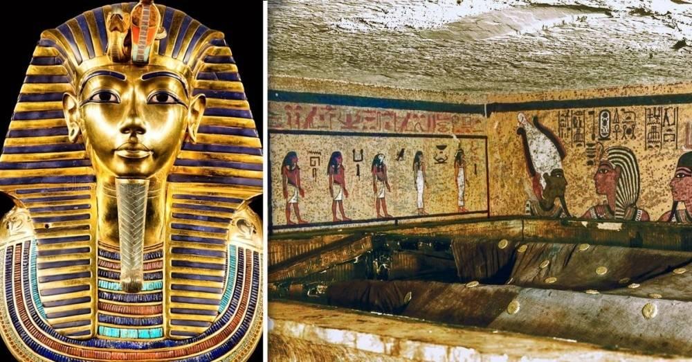 ¿Qué había oculto en las cámaras de la tumba de Tutankamón? La respuesta ..